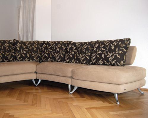 polsterei polsterarbeiten polsterwerkstatt kornelia riehl k ln polstergarnitur alcantara. Black Bedroom Furniture Sets. Home Design Ideas