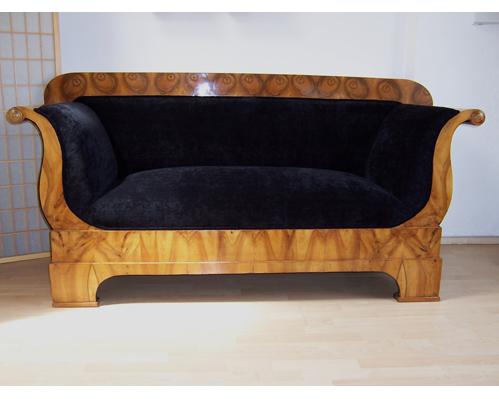 polsterei polsterarbeiten polsterwerkstatt kornelia riehl k ln biedermeier sofa. Black Bedroom Furniture Sets. Home Design Ideas